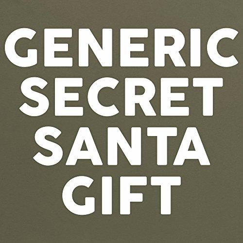 Generic Secret Santa Gift T-Shirt, Herren Olivgrn