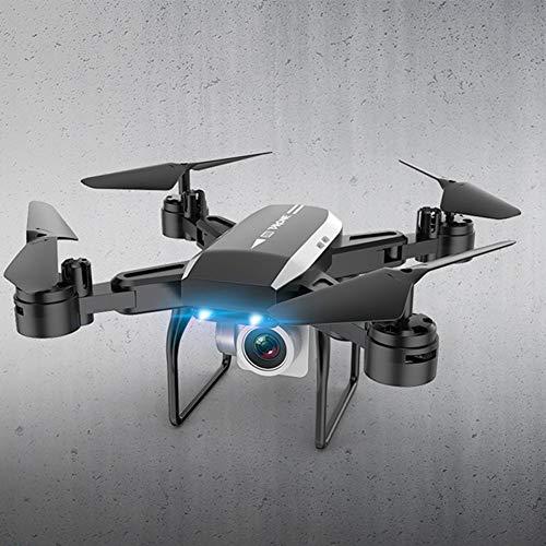 MCLseller WiFi RC-Drohne, FPV Quadcopter mit HD-Kamera, Faltbare Vierachsen-Luftbild-Drohne, RC-Hubschrauber, Lange Flugzeit, für Kinder Erwachsene Anfänger