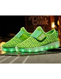 aemember Boys 'zapatos de tul Otoño Invierno comodidad Zapatillas para Casual azul verde Morado negro, US9.5 / EU26 / UK8.5 Toddle, morado