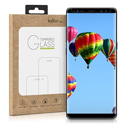 Echtglas-Displayschutz-fr-Samsung-Galaxy-Note-8-kalibri-3D-Schutzglas-Full-Cover-Screen-Protector-Case-Friendly-Glas-Folie-auch-fr-gewlbtes-Display-in-Schwarz