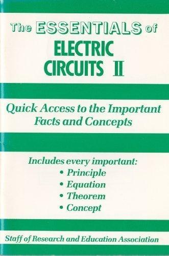 Essentials of Electric Circuits II