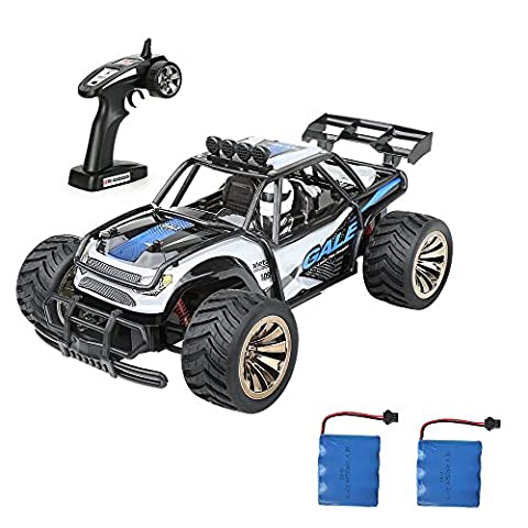 Distianert Electric RC Car Offroad Remote Control Car RTR RC Buggy RC Monster Truck 1:16 2WD 2.4Ghz High Speed with Rechargeable