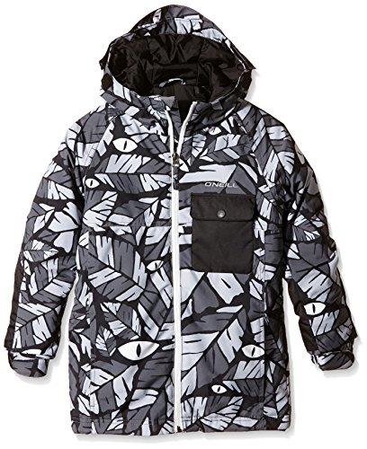 O'Neill Jungen Skijacke PB Kicker, Black Aop, 128, 550076
