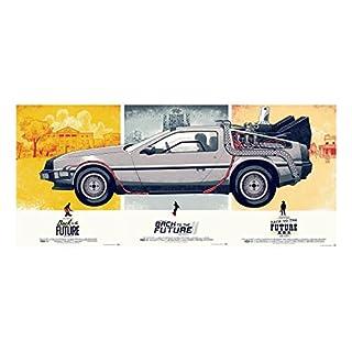 Plakat Poster Zurück In Die Zukunft-Trilogie(91cmx196cm)