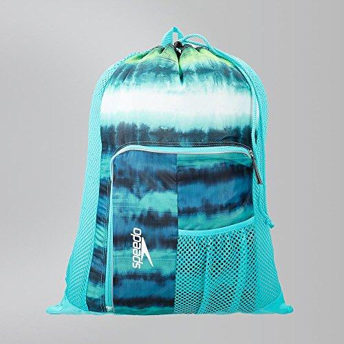 Speedo Deluxe Ventilator Mesh Bag, Cage Turq, 15x15x2 cm -