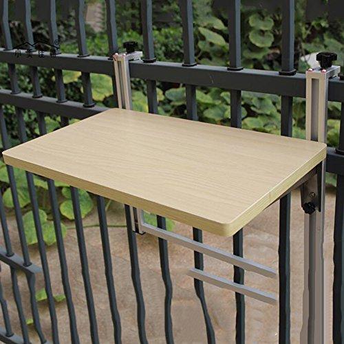 Tische MEIDUO Klappbare Hubtisch Balkon Kleine Bar Folding Hubtisch Freizeit Schreibtisch Einfach zu...