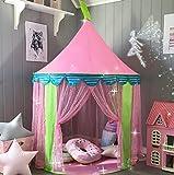 Tenda Gioco per Bambine, Castello della Principessa Rosa (140 cm di altezza), di Tiny Land