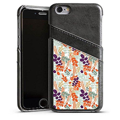 Apple iPhone 6 Housse Étui Silicone Coque Protection Ornements Motif Motif Étui en cuir gris