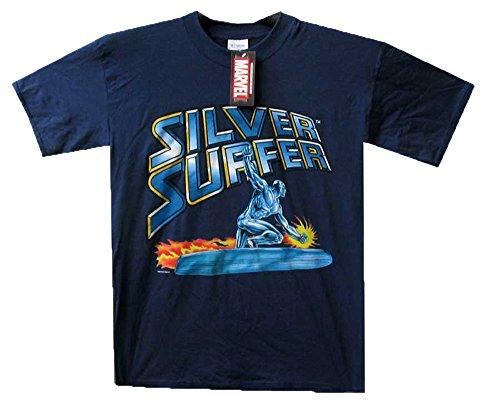 Original Millennium Design | Marvel | camicia | Unisex | M - XL | Manica corta | 100% Cotone | Multiple Colors and Designs Blu