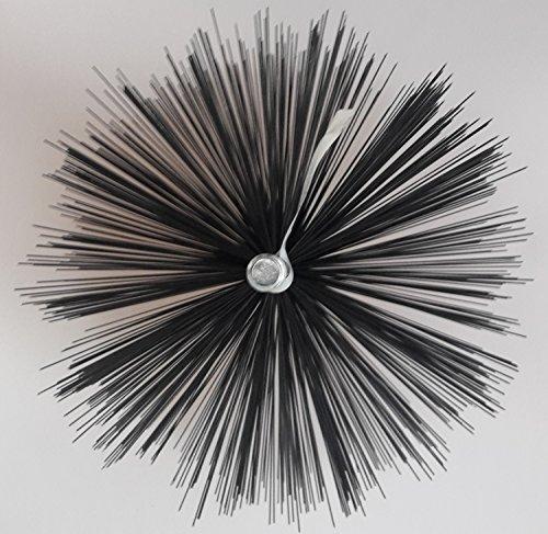 Cepillo de chimenea alambre caldera estufa tubo redondo dimensionalmente estable acero Calidad...