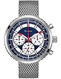 Bulova Men's Analog Quartz Watch with Stainless-Steel Strap 96K101