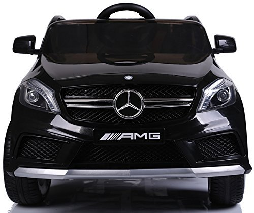 RC Auto kaufen Kinderauto Bild 3: SIMRON - Mercedes-Benz A45 AMG SUV Ride-On 12V Kinderauto Kinderfahrzeug (Schwarz)*