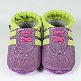 Babyschuhe, Krabbelschuhe, Hausschuhe, Handmade, * Sneaker in lemon-hyazinth. *