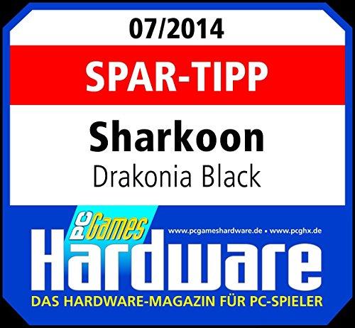 Sharkoon Drakonia Black Gaming Laser Maus 8200 dpi (11 Tasten) schwarz - 15