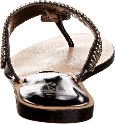 Unze Evening Sandals, Damen Sandalen Schwarz (L18575W)