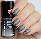 THERMO NAIL POLISH EFFECT - BLACK TO GREY - NEW!