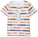 NAME IT Baby-Jungen T-Shirt NBMDESTON SS TOP, Blau (Vintage Indigo), 80