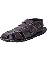 Andrew Scott Men's Brown Sandal