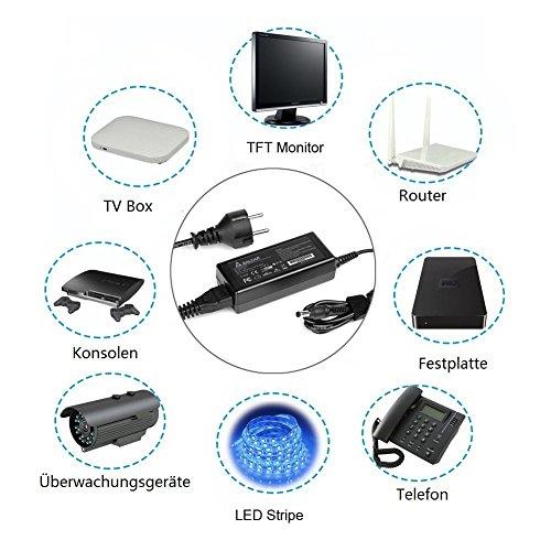 confronta il prezzo Salcar 72W alimentazione (12V 6A), caricabatteria, trasformatore, trasformatore per la striscia flessibile del LED SMD 5050/3528/5630, telecamera a circuito chiuso, un lettore DVD, 3D Stampante, un router, monitor LCD TFT, radio portatile, Bitcoin Miner, purificatore d'aria, Sony autoradio esternamente, schermo LCD, Rope Light ,, telecamera di sorveglianza, PicoPSU, dischi, giocattoli con dovere 12V lavorazione fino maxium 72W miglior prezzo