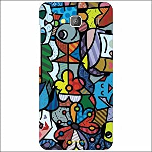 Design Worlds - Redmi 2 Designer Back Cover Case - Multicolor Phone Cover