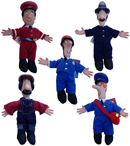 Image of Postman Pat SDS 8 Inch Collectable Plush - POSTMAN PAT Character Figure - Official Merchandise