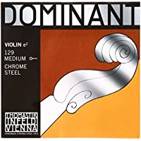 Thomastik Cuerda suelta para 4/4 violín Dominant - cuerda Mi acero cromo, mediana, bola
