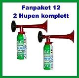 Original Marco Fan pacchetto 12----- hupen fanset Clacson troete Press aria compressa segnale Horn Pro bottiglia dei Produttori, contenente 200ML Gas infiammabili
