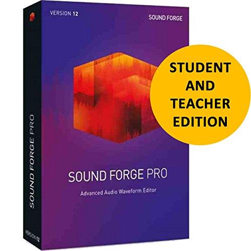 Magix Sound Forge Pro 12 für Schüler und Lehrer