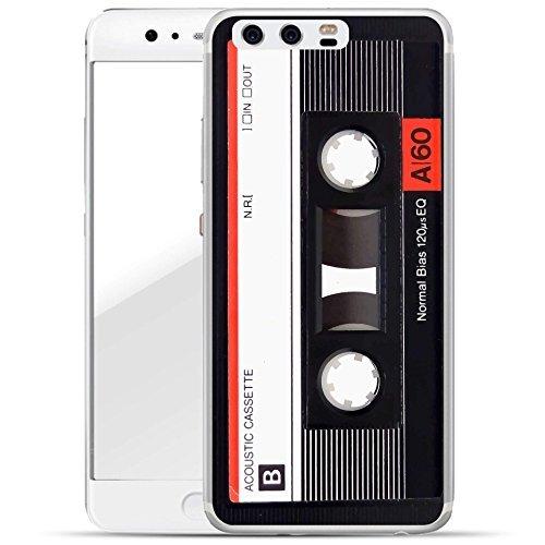 finoo | Huawei P10 Hard Case Handy-Hülle mit Motiv | dünne stoßfeste Schutz-Cover Tasche in Premium Qualität | Premium Case für Dein Smartphone| Kassette Rot
