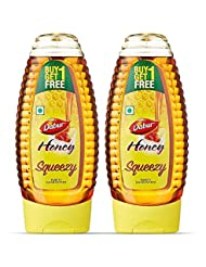 Dabur Honey 400g SquezeePack (Buy 1 Get 1 Free)