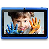 Yuntab Quad Core A33 1,5 GHz Q88 Tablette Tactile PC Android 4.4 Wifi Rom 8 Go HD 1024 x 600 Support 3D Jeux Google Play Store YouTube (bleu)