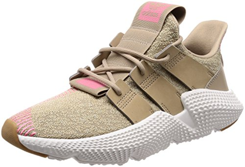 adidas Herren Prophere Sneaker, Braun (Trace Khaki/Trace Khaki/Chalk Pink 0), 44 EU