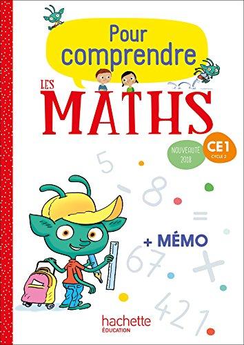 Pour comprendre les maths CE1 - Fichier élève - Ed. 2018