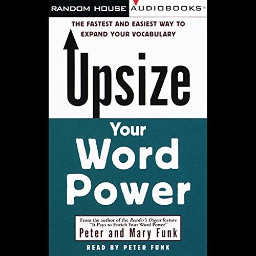 Upsize Your Word Power  Audiolibri