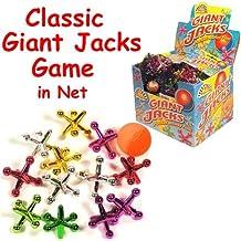 Kids gioco Jacks gigante - 13 Piece Set - colori assortiti in sacchetto a rete - Bo ideale...