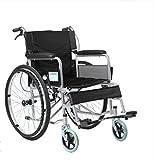 Sedie mediche Sedia a rotelle pieghevole, Carriola per anziani, Portatile, Disabile, Multi-funzionale Scooter per anziani