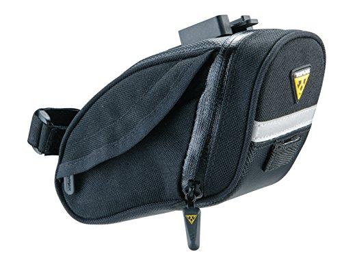 TOPEAK Aero Wedge Pack DX Fahrrad Sattel Tasche Sattelstütze Wedge Pack Rennrad MTB Mountain Bike, 15000040, Größe medium -
