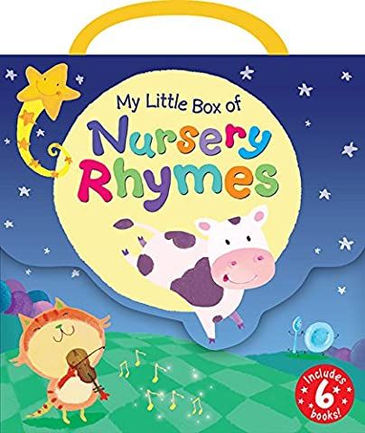 My Little Box of Nursery Rhymes: Hickory, Dickory, Dock/ Hey, Diddle, Diddle/ Row, Row, Row Your Boat/ This Little Piggy/ Star Light, Star Bright/ a Kiss Good Night