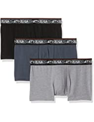 Athena Authentic, Boxer (Lot de 3) Homme