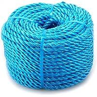 oypla 10mm x 220m blau POLYTARP Seil Spulen Polypropylen PP