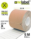 51Xw56TQN4L. SL160  UK BEST BUY #1Pre Cut Kinesiology Tape   Muscle Tape 5m Sports Tape For Knee Shoulder Elbow Ankle Back Neck   Waterproof Medical Tape Reduce Fatigue Recover Faster   FDA/CE Approved Latex Free Medical Tape 4 Colours (Skin / Beige) price Reviews uk