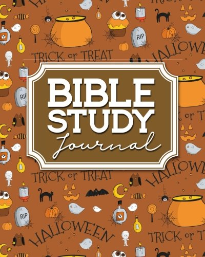 Bible Journal For Women Large Print, Bible Study Notebook For Men, Bible Notes Book, Daily Bible Devotions, Cute Halloween Cover (Bible Study Journals, Band 23) ()