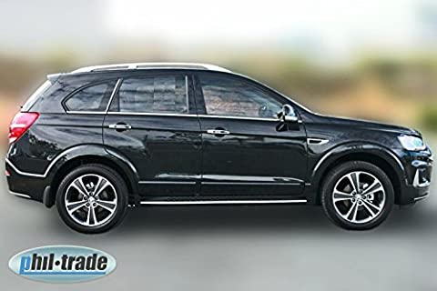 Chrome Window Trim for Chevrolet Captiva