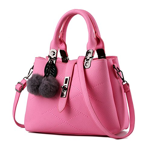 FZHLY Borsa A Tracolla Nuovo Svago Stereotipi Sweet Fashion Messenger,NavyBlue Pink