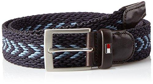 Tommy Hilfiger Herren Gürtel Adan Multi Belt 3.5 Blau (Pumice/Blue Mix 902)