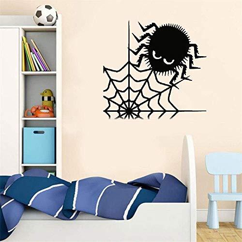 Wandaufkleber Kinderzimmer Wandtattoo Kinderzimmer Spinnennetz niedliche Spinner Aufkleber Poster für Halloween Urlaub Festival ()
