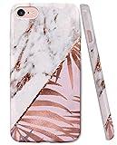 ZUSLAB Coque iPhone 8, iPhone 7 [Doux TPU] Étui Protecteur Peau Douce en Gel Silicone, avec Motif Artistique, pour Filles et Femmes, Anti-Choc, Ultra-Mince, Housse de Protection pour Apple iPhone 8/7