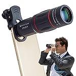 Apexel Universal 18X Clip-On Tele Teleskop Kamera Handy Zoom Objektiv für iPhone X / 8 7 Plus / 6S Samsung Galaxy S8 S7 Huawei und die meisten Android Smartphone