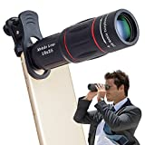 Apexel Universal 18X Clip-On Telephoto T...