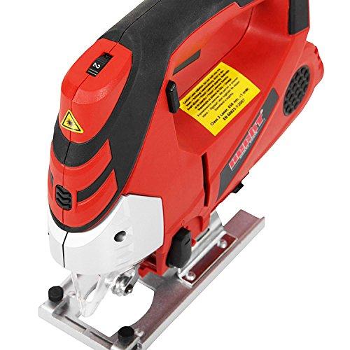 Hecht 1569 Profi-Stichsäge 810 Watt, mit Beleuchtung und Laser - 5
